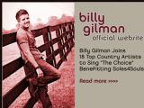 Billy Gilman - Site officiel