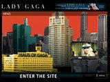 Lady Gaga, Official Website