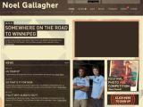 The Official Noel Gallagher Website