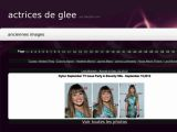 Photo blog des actrices de Glee