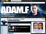 Adam F, le site officiel