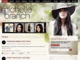 Site officiel de Michelle Branch