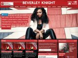Beverley Knight, le site officiel