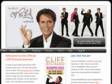 Cliff Richard, le site officiel