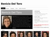 Benicio Del Toro - Site officiel
