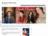 Claudia Christian - Site officiel