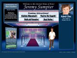 The official Jeremy Sumpter web site