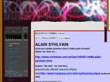 Alain Syhlvain - site officiel
