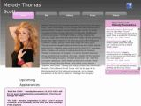 Melody Thomas Scott - Site officiel